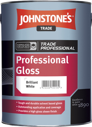 Johnstone's Professional Gloss (Brilliant White) – 2,5 l