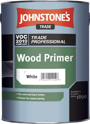 JOHNSTONE'S Wood Primer White – 2,5 l