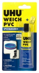 Lepidlo UHU Weich PVC na měkké plasty
