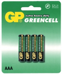 Baterie GP GREENCELL 24G R03 AAA