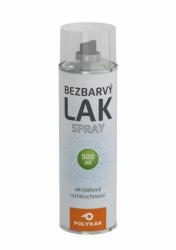 PolyKar Bezbarvý lak sprej 500 ml