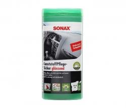 SONAX Čistící ubrousky na plasty - box,25 ks