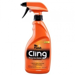 Nu Finish - Cling Spray car polish U.S.A