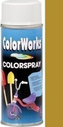 Color Works zlatá  400ml