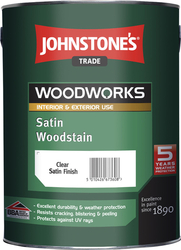 JOHNSTONE'S Satin Woodstain – 5l