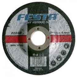 Kotouč na kov brusný FESTA průměr Ø 230 x 6,4 x 22,2 mm