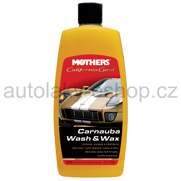 Mothers® California Gold® Carnauba Wash & Wax – 1,892 l