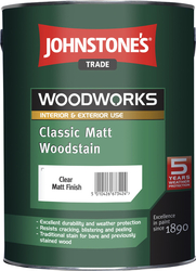 JOHNSTONE'S Classic Matt Woodstain – 0,75 l